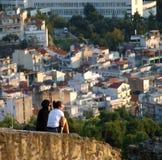 Thessaloniki - een mening vanaf de bovenkant Royalty-vrije Stock Afbeelding