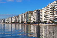Thessaloniki embankment, Greece Royalty Free Stock Photography