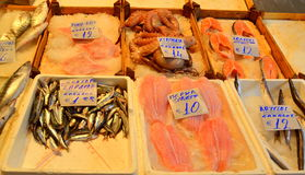 Fish market Greece Royalty Free Stock Images