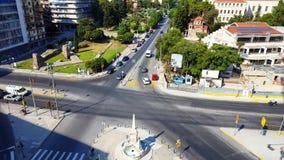 Thessaloniki flyg- sikt arkivfilmer