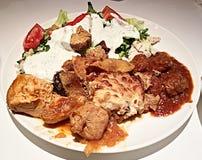 Thessaloniki food Stock Image