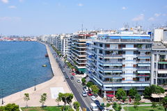 Thessaloniki, Greece. Main view on Thessaloniki, Greece Stock Photos