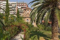 Thessaloniki, Greece. Church of Panagia Chalkeon (1028, UNESCO list) Stock Photos