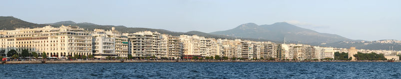 Thessaloniki ( Greece) panorama Stock Images