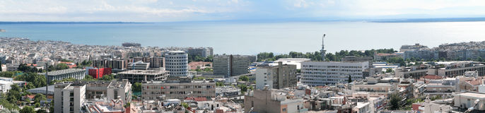 Thessaloniki (Greece) panorama Stock Photo
