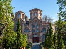 10 03 2018 Thessaloniki, Grekland - Agios Panteleimon kyrka i Th arkivfoto
