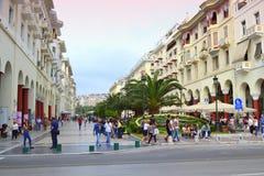 Thessaloniki Griekenland mening Stock Afbeeldingen