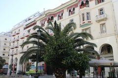 THESSALONIKI, Griekenland, Stadscentrum, Solun Stock Foto's