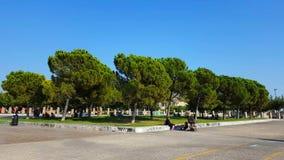 Thessaloniki havskust lager videofilmer