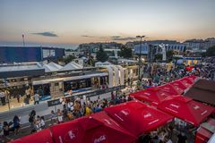 Thessaloniki International annual fair royalty free stock photo