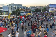 Thessaloniki International annual fair royalty free stock photos