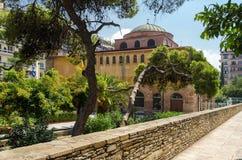 Thessaloniki, kerk van Hagia Sophia Stock Afbeelding