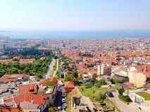 Thessaloniki landschap royalty-vrije stock afbeelding