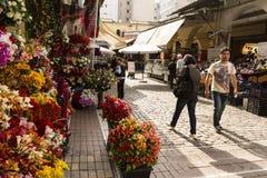Thessaloniki loppmarknad Royaltyfri Fotografi