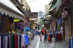 Thessaloniki marknad Grekland Royaltyfria Bilder