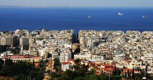 Thessaloniki, noordelijk Griekenland royalty-vrije stock foto's