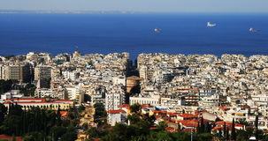 Thessaloniki, northern Greece royalty free stock photos