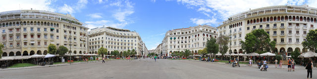 Thessaloniki panorama Royalty Free Stock Photography