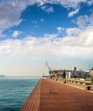 Thessaloniki Port, Greece Stock Photo