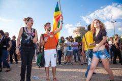 Thessaloniki Pride 2013 - Greece Royalty Free Stock Image