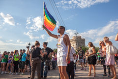 Thessaloniki Pride 2013 - Greece Royalty Free Stock Photos