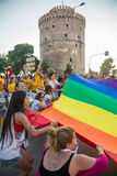 Thessaloniki Pride 2013 - Greece Stock Photo