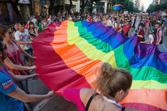 Thessaloniki Pride 2013 - Greece Stock Image