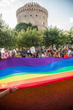Thessaloniki Pride 2013 - Greece Royalty Free Stock Photo