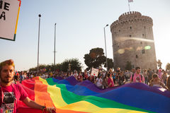 Thessaloniki Pride 2013 - Greece Stock Photography