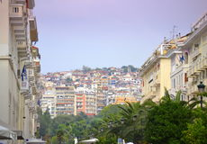 Thessaloniki  scenic view Greece Stock Photography