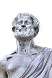 thessaloniki Scultura di Aristotele fotografia stock libera da diritti