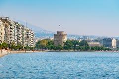 Thessaloniki seafront. Macedonia, Greece Royalty Free Stock Image