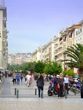 Thessaloniki  square Greece Royalty Free Stock Photography