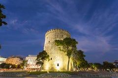 Thessaloniki stad, Grekland Royaltyfri Fotografi