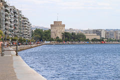 Thessaloniki Tower Royalty Free Stock Photo