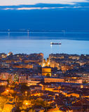 Thessaloniki at twilight, Greece Royalty Free Stock Image