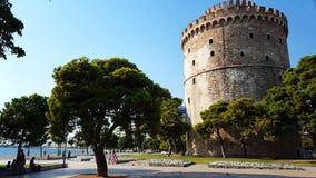 Thessaloniki vitt torn arkivfilmer