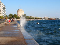Thessaloniki walk Stock Photography