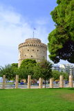 Thessaloniki White Tower Greece Royalty Free Stock Photo