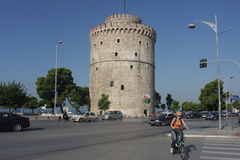 Thessaloniki White Tower Royalty Free Stock Photo