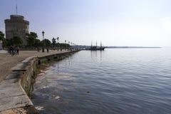 Thessaloniki witte toren Royalty-vrije Stock Afbeeldingen