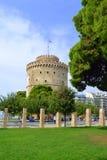 Thessaloniki Witte Toren Griekenland Royalty-vrije Stock Foto