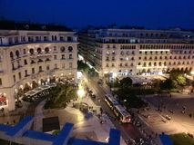 Thessolonika cente square in  Greece Royalty Free Stock Photography