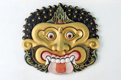 Thet mask in Yogyakarta Sultanate Palace Stock Photos