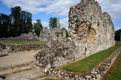 Thetford Priory. Old ruins of the Thetford Priory Royalty Free Stock Photos