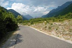 Theth, montagne di Prokletije, Albania Fotografia Stock