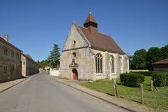 Theuville, Γαλλία - 4 Ιουνίου 2015: το γραφικό χωριό Στοκ Φωτογραφίες