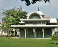 Thewarat Sapharom Hall in Phayathai Palace Stock Photo