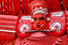 Theyyam艺术家 库存图片