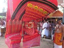 Theyyam стоковое изображение